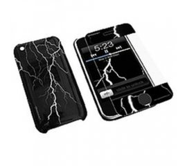KONNET HARDJAC GRAFFITO iPHONE 3G/GS COVER NERO