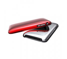 KONNET SHINE iPHONE 3G/3GS COVER SILVER/RED