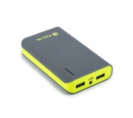 NGS POWERPUMP 6600 POWERBANK 6600mAh GRIGIO/LIME