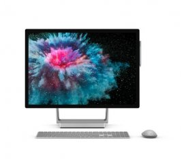 "MICROSOFT SURFACE STUDIO 2 28"" TOUCH SCREEN i7-7820HQ 2.9GHz RAM 32GB-SSD 1.000GB-NVIDIA GEFORCE GTX 1070-WIN 10 PROF ITALIA ARGENTO (LAL-00017)"