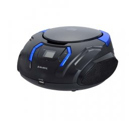 New Majestic AH-225 MP3 USB Analogico Nero, Blu