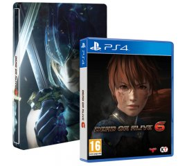 KOEI TECMO PS4 DEAD OR ALIVE 6 STEELBOOK