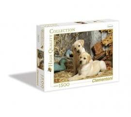 Clementoni Hunting Dogs Puzzle 1500 pezzo(i)