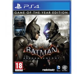 WARNER BROS PS4 BATMAN ARKHAM KNIGHT GOTY EDITION