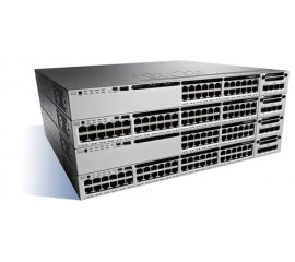 Cisco Catalyst WS-C3850-12XS-S switch di rete Gestito Nero, Grigio