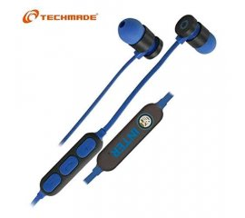 TECHMADE TM-FRMUSIC-INT AURICOLARI BLUETOOTH INTER COLORE BLU NERO