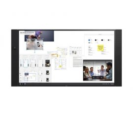 "NEC 75? InfinityBoard 2.0 190,5 cm (75"") LED 4K Ultra HD Touch screen Pannello piatto interattivo Nero"