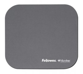 Fellowes Microban Mouse Pad Silver Argento