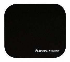 FELLOWES TAPPETINO MOUSE MICROBAN COLORE NERO