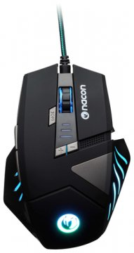 NACON PCGM-300 MOUSE GAMING OTTICO USB 2500 DPI 8 TASTI COLORE NERO