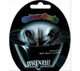 MAXELL AURICOLARI COLOR BUDS BLACK