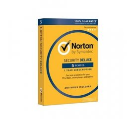 SYMANTEC NORTON SECURITY DELUXE 1 LICENZA PER 5 DISPOSITIVI ITALIANO