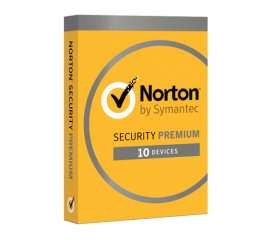SYMANTEC NORTON SECURITY PREMIUM 1 LICENZA PER 10 DISPOSITIVI ITALIANO