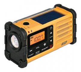 SANGEAN MMR-88 SURVIVOR M8 RADIO DIGITALE DAB+ OUTDOOR USB DOTATA DI TORCIA LED E DINAMO