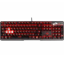 MSI VIGOR GK60 tastiera USB QWERTY Nero