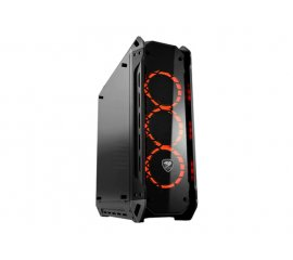 COUGAR PANZER G CASE GAMING MIDDLE TOWER ATX CON FINESTRA IN VETRO TEMPERATO COLORE NERO
