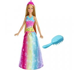 MATTEL BARBIE DREAMTOPIA PRINCIPESSA PETTINA BRILLA