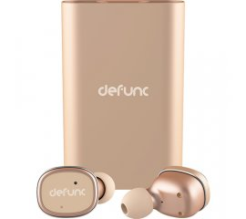 DEFUNC TRUE EARBUD AURICOLARE BLUETOOTH CON CUSTODIA DI RICARICA POWERBANK DA 2.100 mAH COLORE GOLD