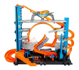 HOT WHEELS HW GARAGE DELLE ACROBAZIE