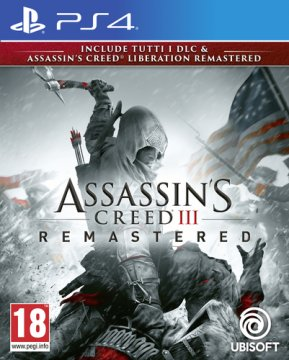 UBISOFT PS4 ASSASSIN'S CREED III LIBERATION REMASTERED