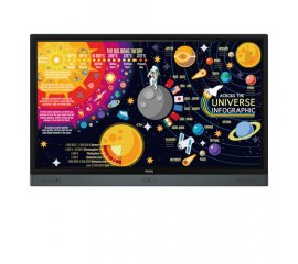 "Benq RP6501K monitor touch screen 165,1 cm (65"") 3840 x 2160 Pixel Nero Multi-touch Multi utente"