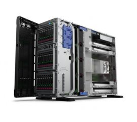 "HP ML350 GEN10 SERVER TOWER XEON 3106 1.7GHz RAM 16GB-4 BAY HDD HOT PLUG SATA 3.5""-NO S.O. BALCK (877620-421)"