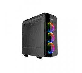 COUGAR PURITAS RGB CASE MIDDLE TOWER VETRO TEMPERATO MINITX/MATX/ATX NERO