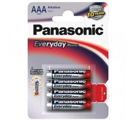 PANASONIC EVERYDAY LR03 MINISTILO BLISTER 4 Pz.