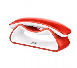 TIM FACILE SMILE CORDLESS DECT VIVAVOCE SVEGLIA RED