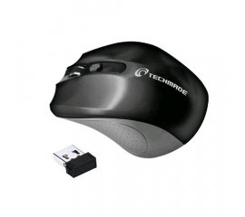 TECHMADE TM-XJ30-BK MOUSE WIRELESS 1.600 DPI 2 PULSANTI 1 TASTO DI REGOLAZIONE DPI BLACK