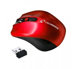 TECHMADE TM-XJ30-RED MOUSE WIRELESS 1.600 DPI 2 PULSANTI 1 TASTO DI REGOLAZIONE DPI RED
