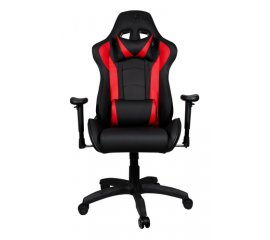 COOLER MASTER GAMING CHAIR CALIBER R1 POLTRONA GAMING ECOPELLE BLACK/RED