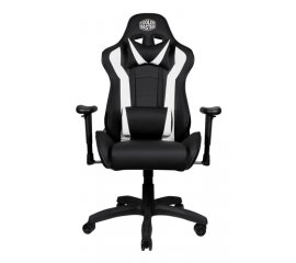 COOLER MASTER GAMING CHAIR CALIBER R1 POLTRONA GAMING ECOPELLE BLACK/WHITE
