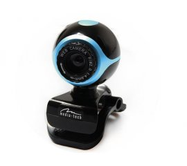 Media-Tech LOOK II MT4047 webcam 640 x 480 Pixel USB 2.0 Nero, Blu