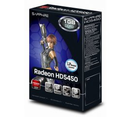 Sapphire 11166-67-20G scheda video AMD Radeon HD 5450 1 GB GDDR3