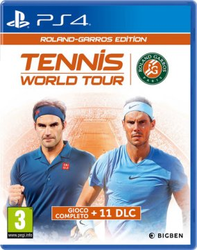 BIGBEN PS4TENNISRGIT PS4 TENNIS WORLD TOUR ROLAND GARROS EDITION