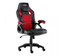 ATLANTIC RS5RED POLTRONA GAMING NERO/ROSSA