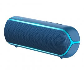 SONY SRS-XB22 DIFFUSORE PORTATILE BLUETOOTH SPLASH PROOF EXTRA BASS CON LUCI COLORE BLU