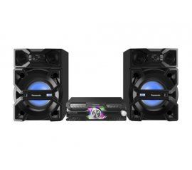 PANASONIC SC-MAX3500EK SISTEMA MINI BLUETOOTH 2.400W DJ JUKEBOX MEMORIA INTERNA 4 GB FM/AM MP3 NERO