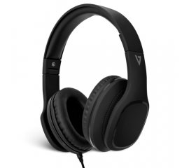 V7 HA701-3EP CUFFIE OVER-EAR CON MICROFONO E CONTROLLO VOLUME JACK 3.5 MM BLACK
