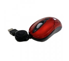 ATLANTIC MOMI1R MINI MOUSE USB LUCIDO ROSSO