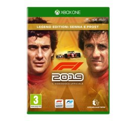 KOCH MEDIA XBOX ONE F1 2019 LEGENDS EDITION:SENNA E PROST ITALIA