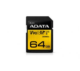 ADATA Premier ONE memoria flash 64 GB SDXC Classe 10 UHS-II