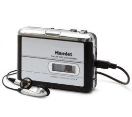 Hamlet Smart Tape Converter mangianastri portatile convertitore audiocassette in mp3 in 3 step