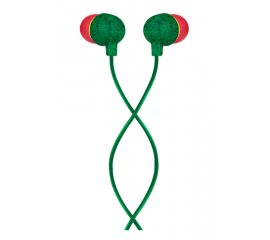 The House Of Marley Little Bird Mic Cuffia Auricolare Verde, Rosso
