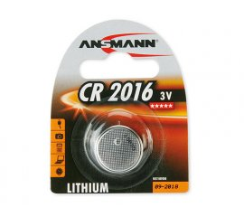 ANSMANN CR2016 BATTERIA A BOTTONE AL LITIO 3V