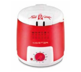 Master FRYER02 friggitrice 1,2 L Rosso, Bianco Indipendente