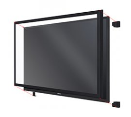 "Toshiba TOUCH-65-10P-IR rivestimento per touch screen 165,1 cm (65"") Multi-touch USB"
