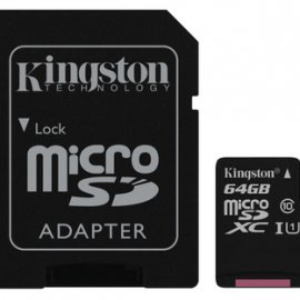 Kingston Technology Canvas Select memoria flash 64 GB MicroSDXC Classe 10 UHS-I venduto su Radionovelli.it!