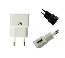 TC110 patrick CARICA RETE USB 1a + CAVO iPhone lightning White